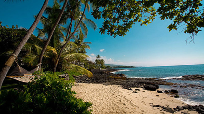 Kona Beach House Villa Rental