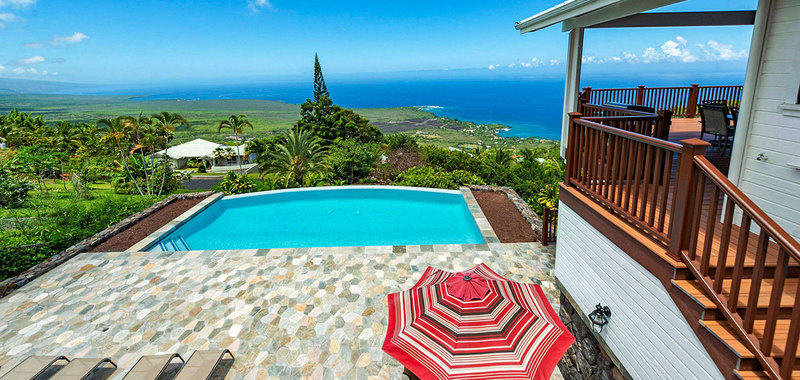 Kona Dolphin House Villa Rental