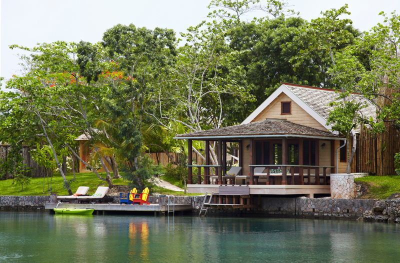 Lagoon cottages at goldeneye jamaica villas 02
