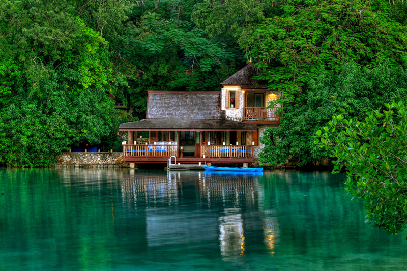 Lagoon cottages at goldeneye jamaica villas 10