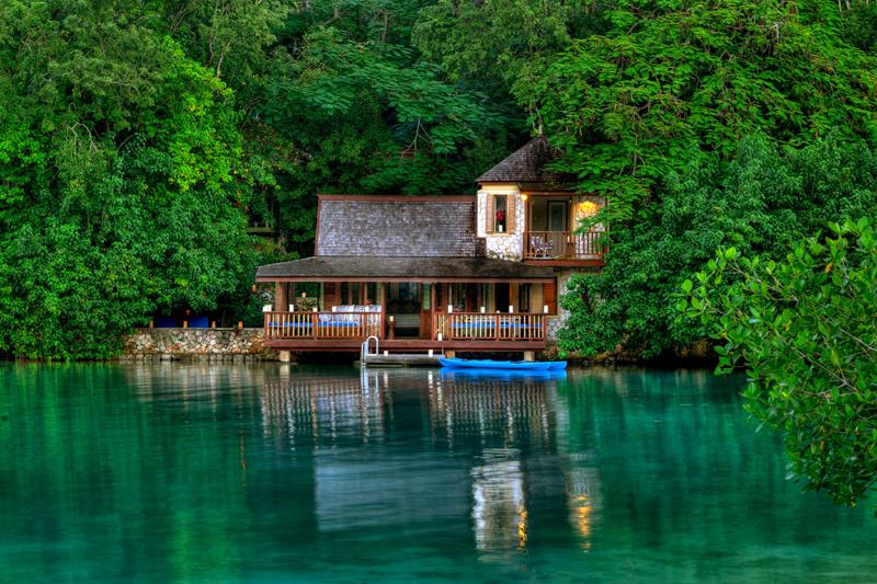 Lagoon cottages at goldeneye jamaica villas 10