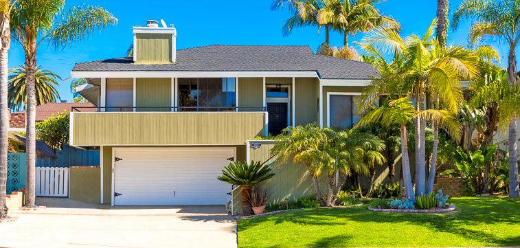 Tropical Paradise Beach House Gallery California Los